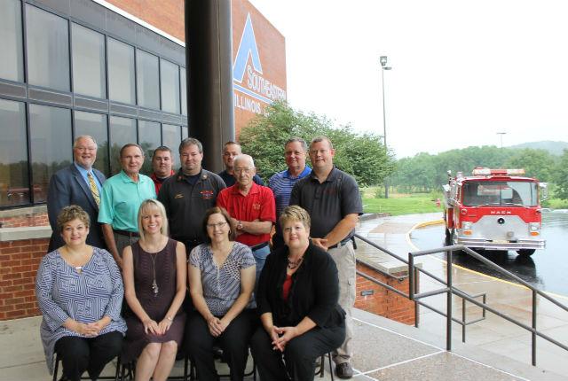 Lake of Egypt Fire District donates firetruck to Southeastern Illinois College