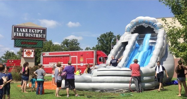 Local fire department hosts fun fair to encourage fire safety